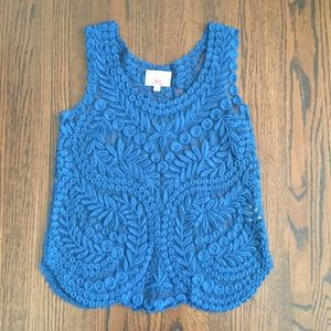 baraschi embroidered tank